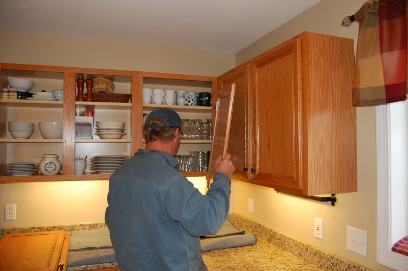 Remove Old Doors, Drawer Fronts And Moldings Then Prepare Your Cabinets For  New Refacing Material.