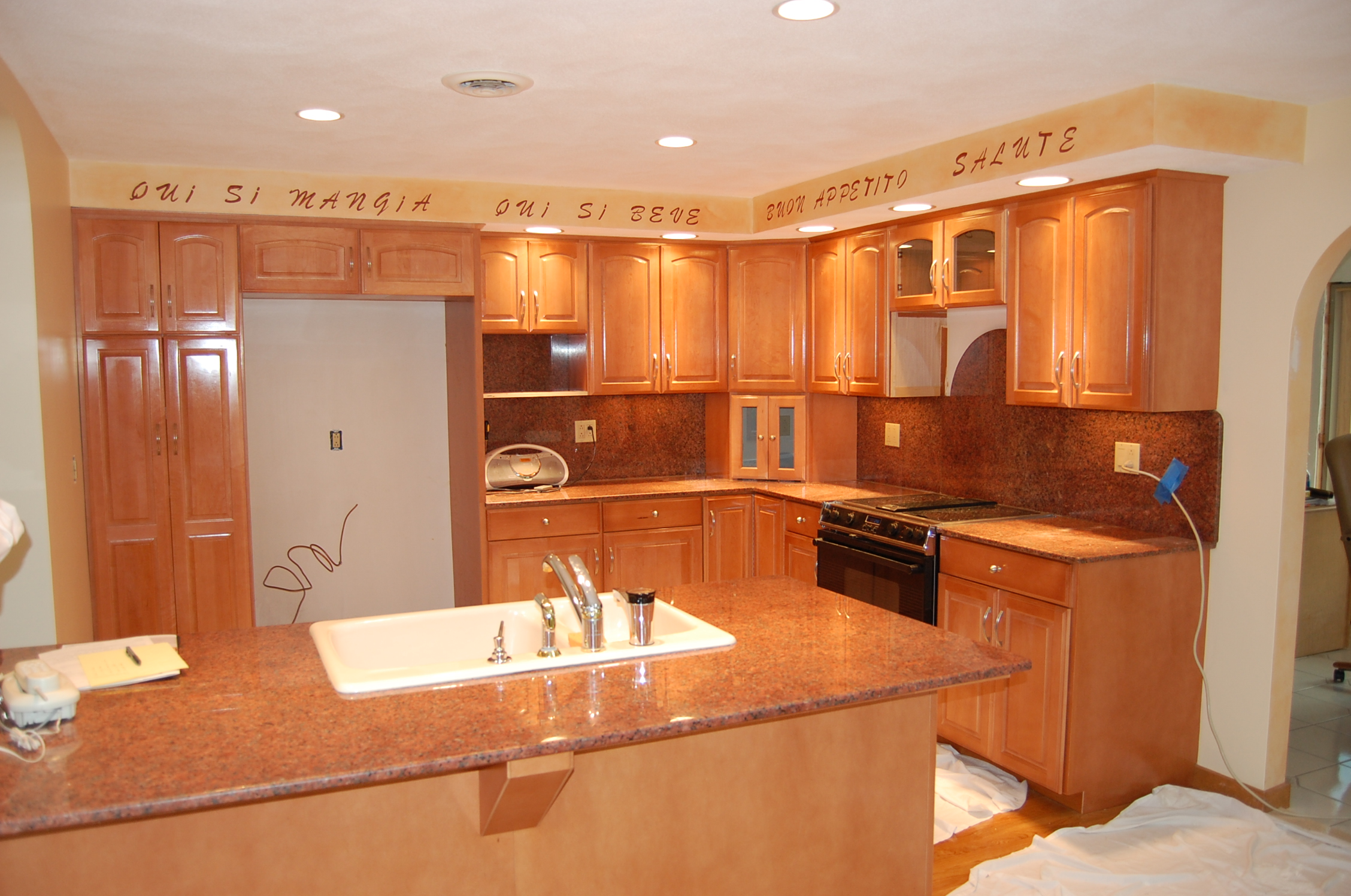 Classic Kitchen Cabinets classic kitchen cabinet refacing - refacing process